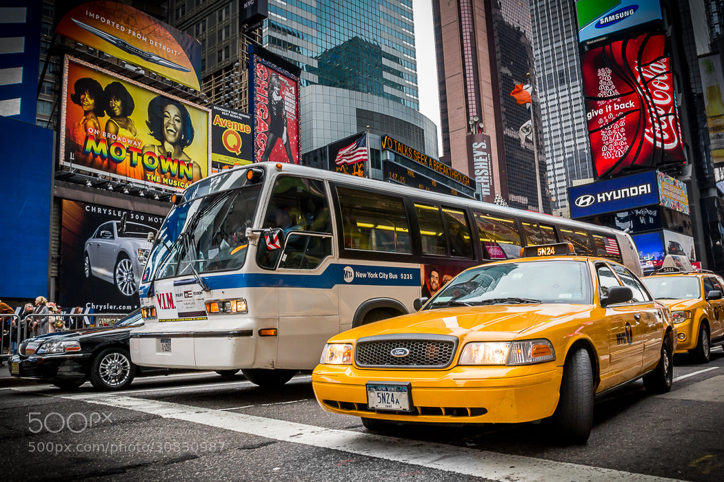 Photograph NYC Taxi by Damien Petit on 500px