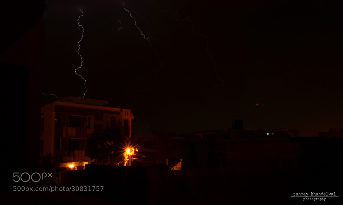 Photograph Lightening by Tanmay Khandelwal on 500px