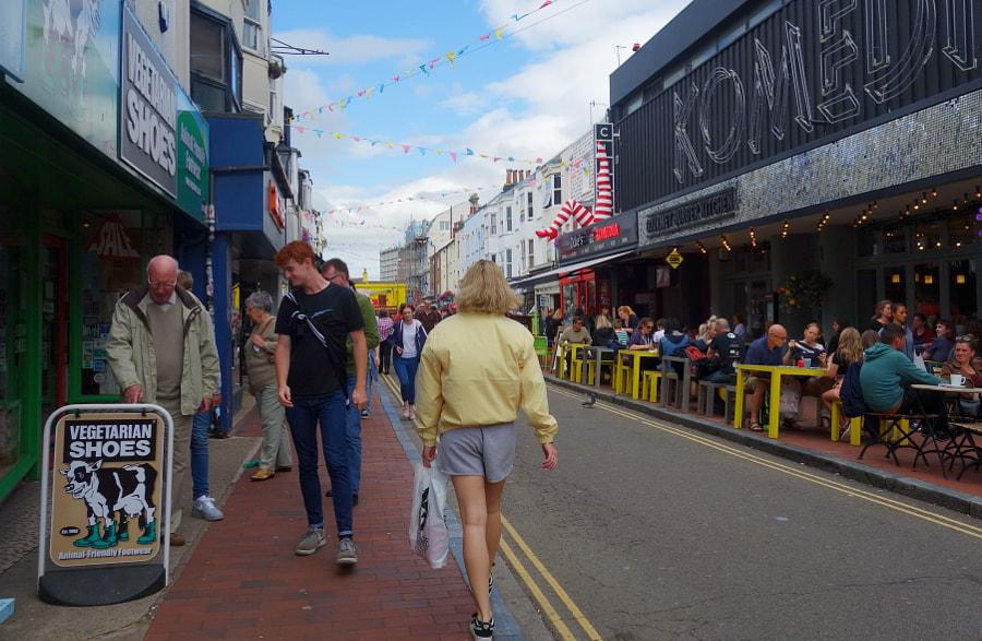 The Brighton Lanes, UK by Sandra  on 500px.com