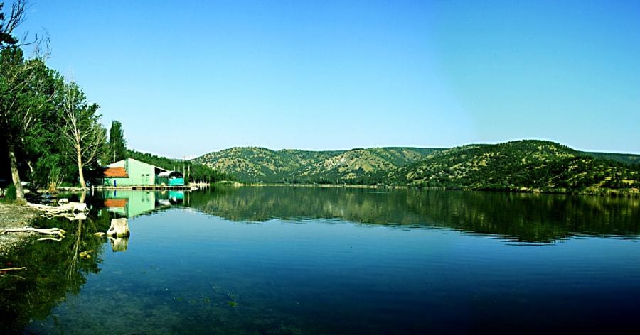 EYMİR gölü panoramik by mustafa aydoğan on 500px.com