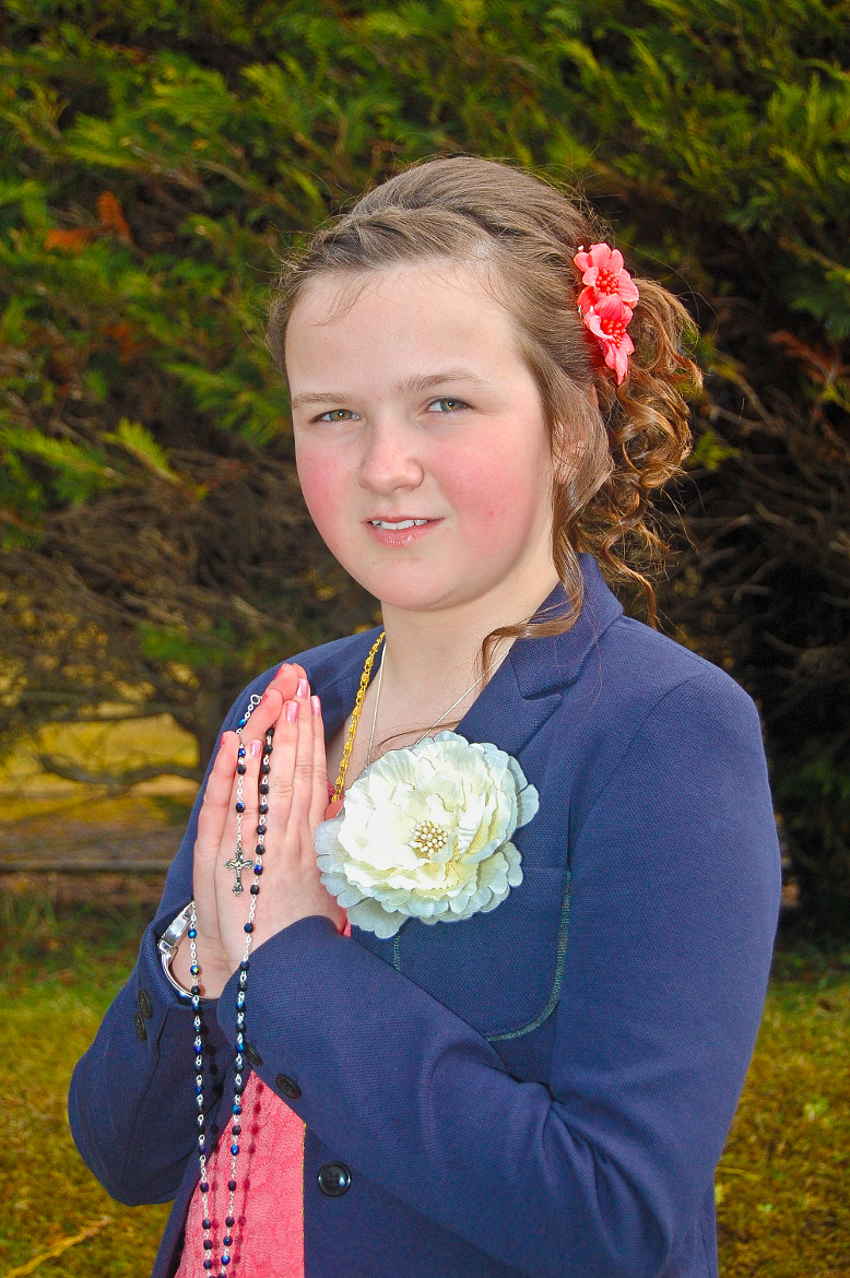 Photograph Emily at Confirmation by Fergal Kearney on 500px