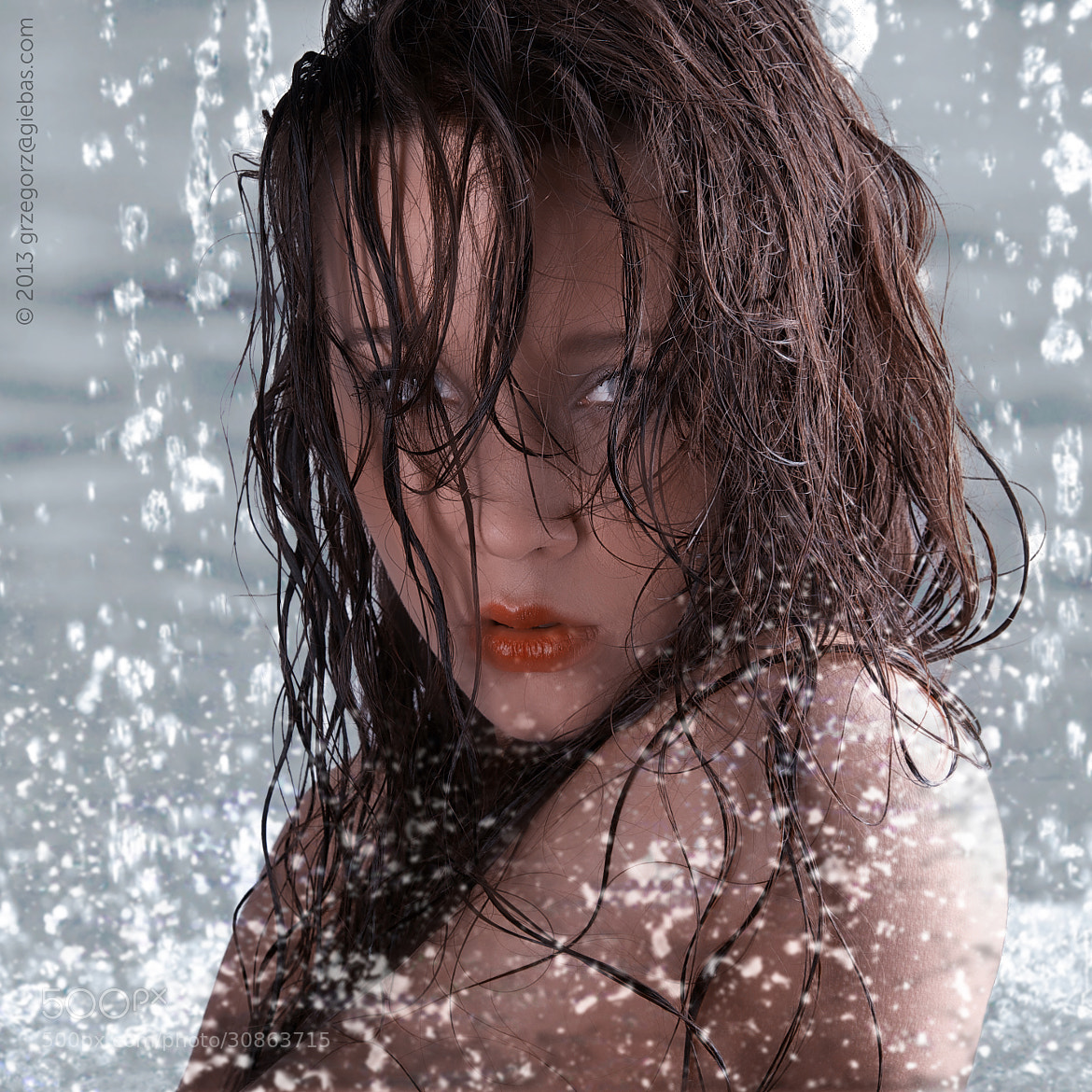 Photograph Woman in wet by Grzegorz Giebas on 500px