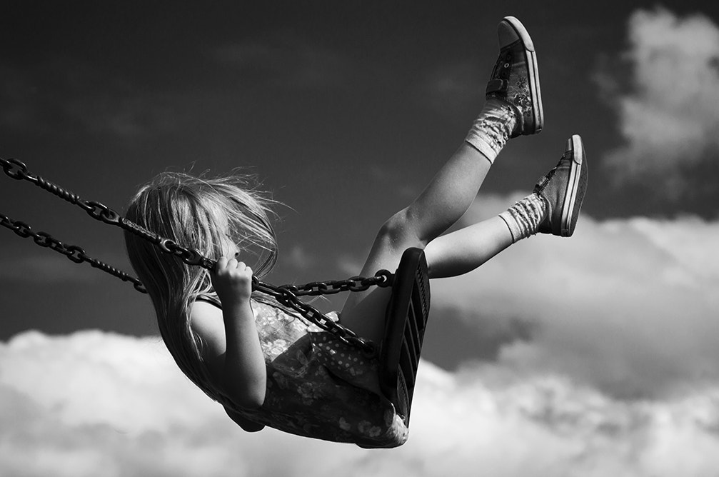 Photograph BW swing by Audran Gosling on 500px