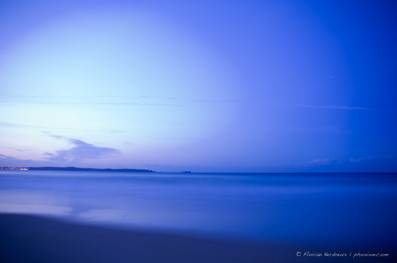 Photograph Blue hour in Brittany by Florian Kerdreux on 500px