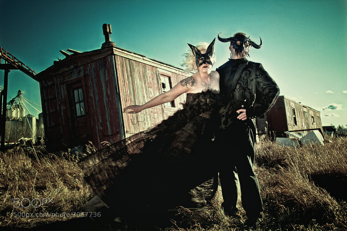 Photograph Halloween Wedding by Arsan Buffin on 500px