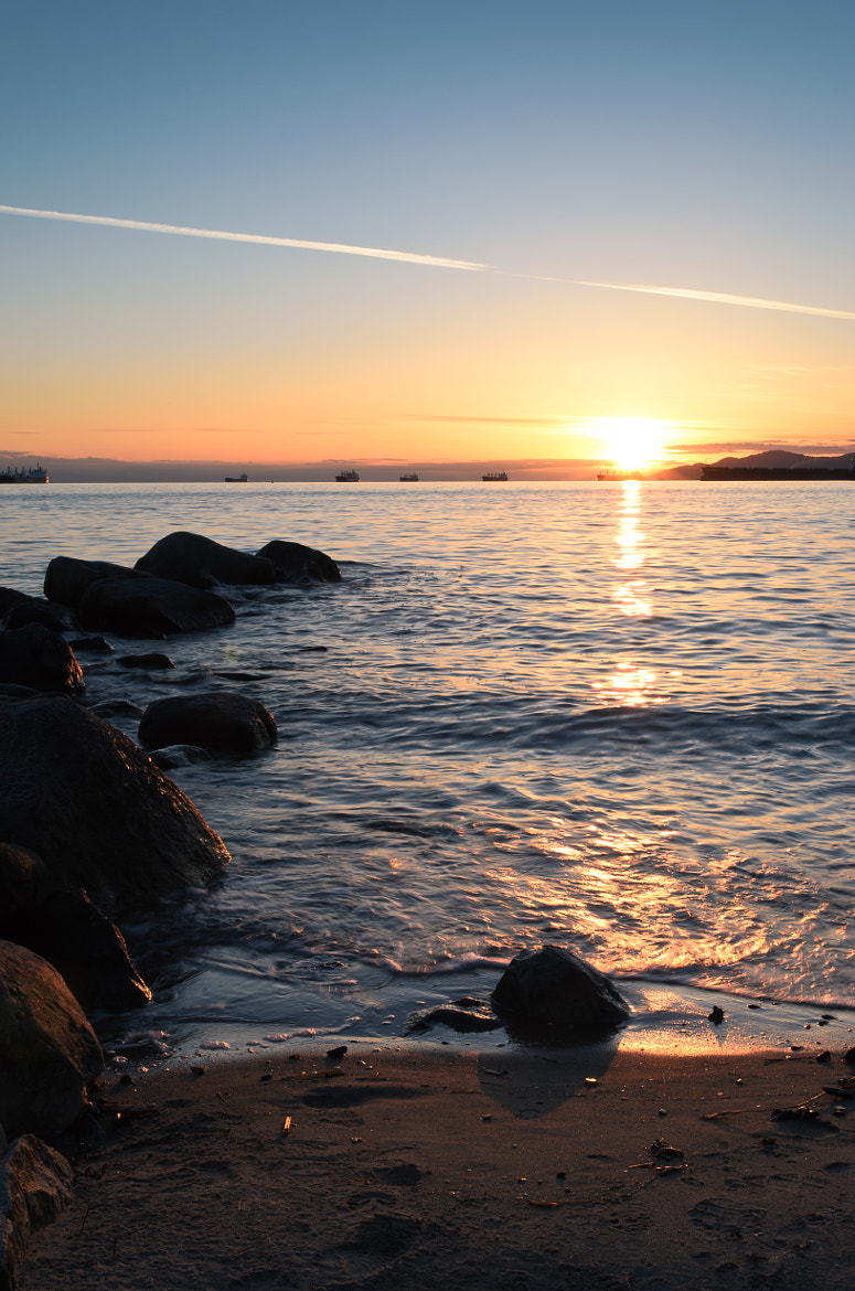 Photograph English Bay Sunset by dohitsch on 500px