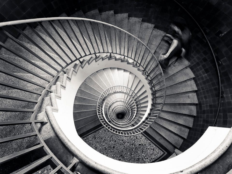 Photograph Stairs II by Rafael Kos on 500px