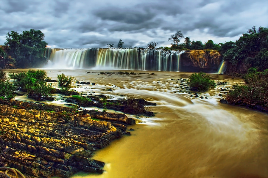 Photograph Waterfall in the rainy season by Amateur Pic on 500px