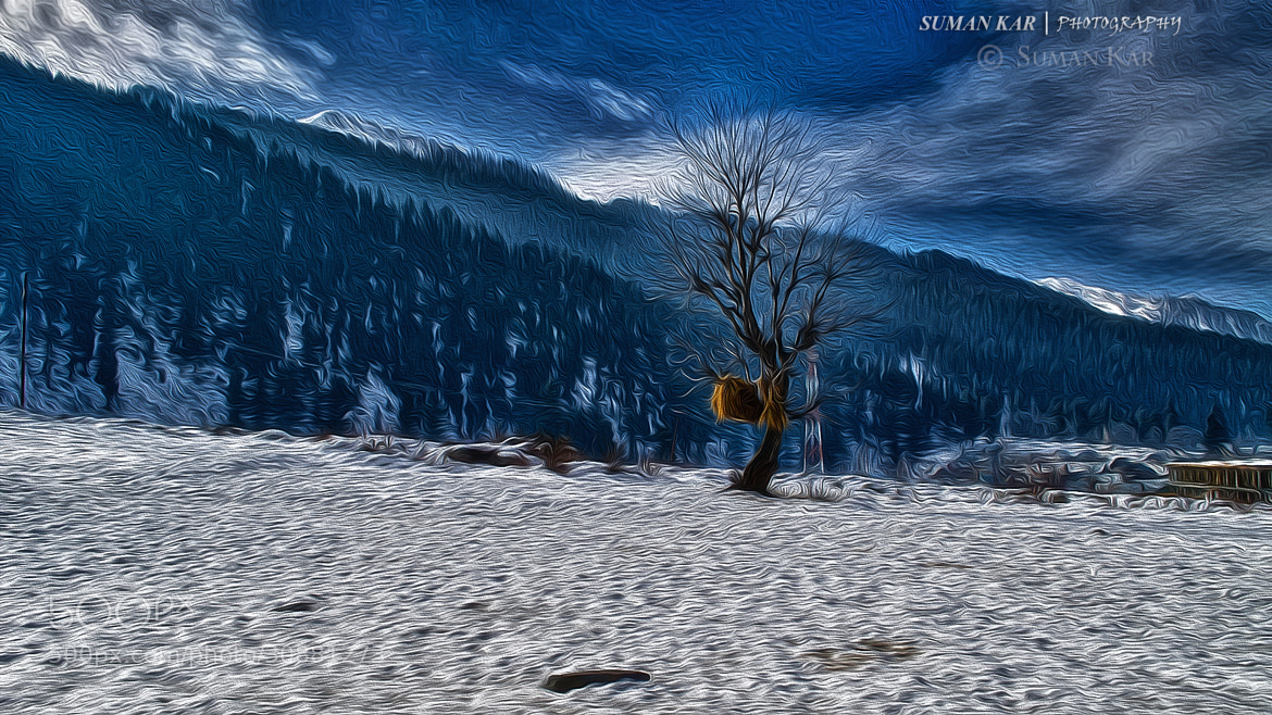 Photograph Standing Alone by Suman Kar on 500px