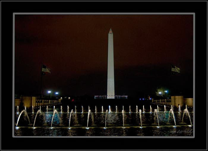 Photograph Night Monuments by Jeff Preletz on 500px