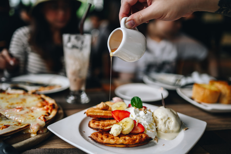 Waffle - stock photo by Metwara Narksook on 500px.com