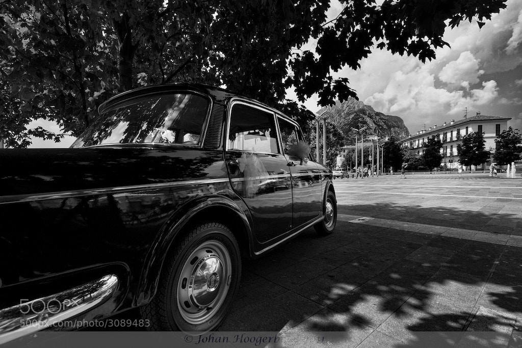 Photograph Car of Wedding, Lago di Como  by Johan Hoogerbrug on 500px