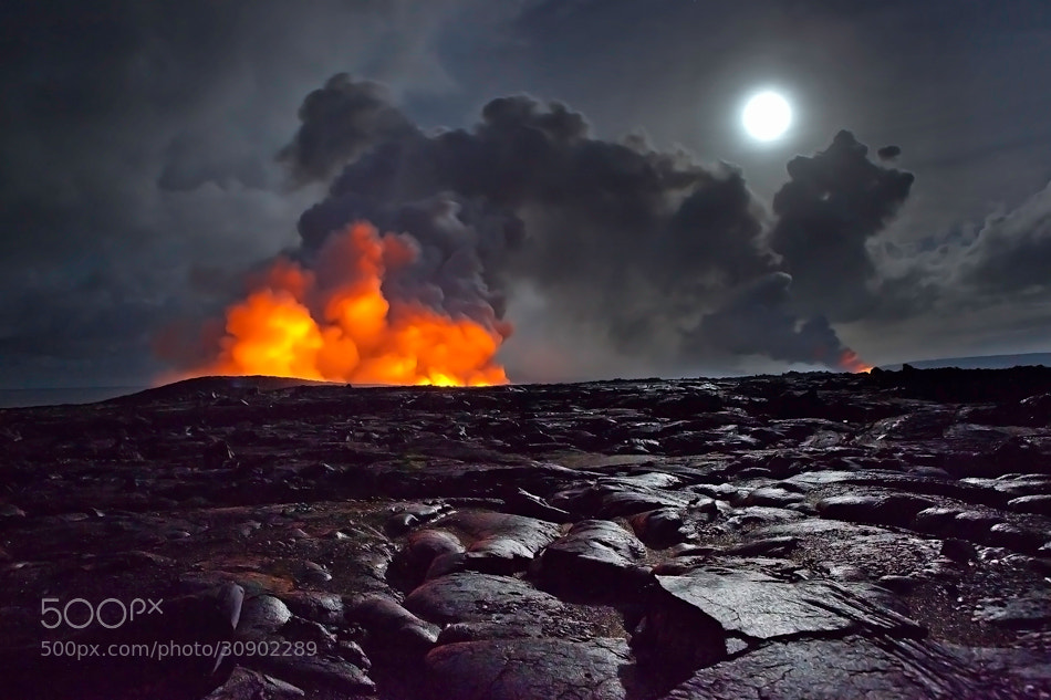 Photograph On the way to eruption by samuel FERON on 500px