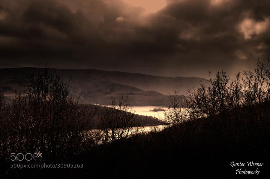 Photograph dark lake by Gunter Werner on 500px