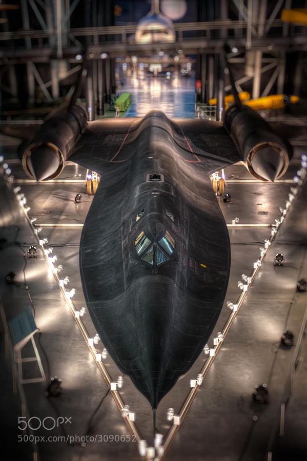 The SR-71 at the Steven F. Udvar-Hazy Center near Washington Dulles International Airport