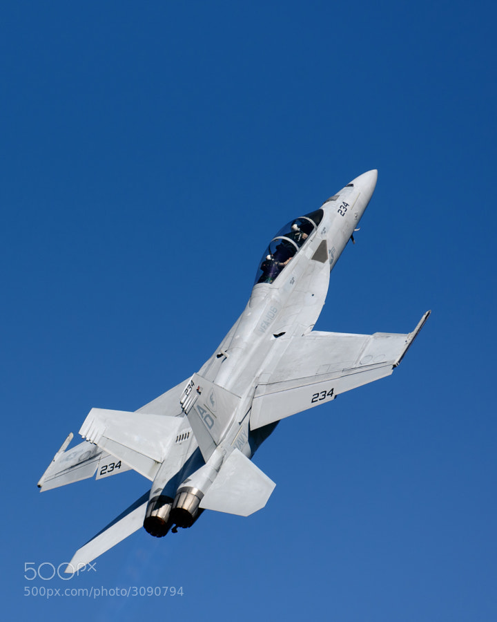 F/A-18F Super Hornet at the 2010 NAS Pensacola homecoming airshow