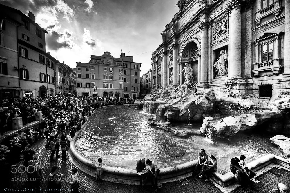 Photograph Trevi Fountain by Lee  Carus on 500px