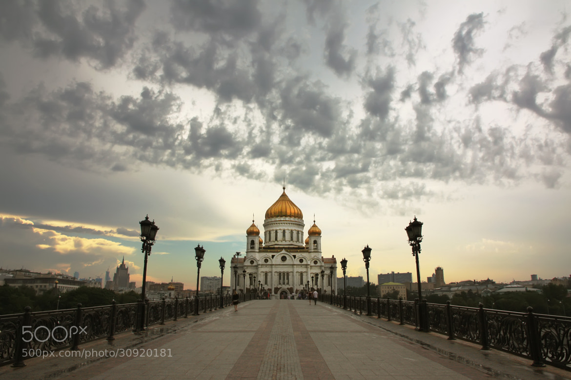 Photograph Cathedral of Christ the Saviour in the Evening Light by  Catuncia on 500px