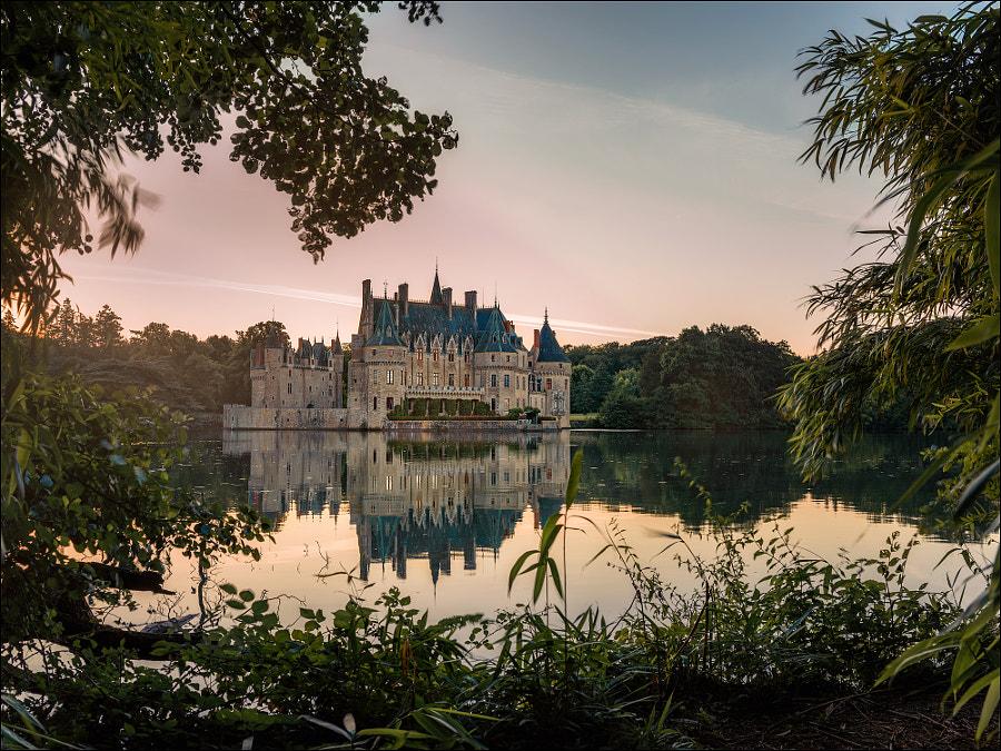 Chateau de la Bretesche by Georg Scharf