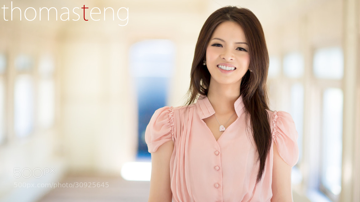 Photograph Christine 人像 by Thomas Teng on 500px