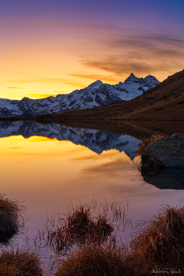 Photograph Stellisee Sunset by Andreas Resch on 500px