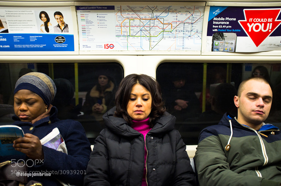 Dejándose llevar por el metro de Londres by Diego Jambrina (Elhombredemackintosh)) on 500px.com