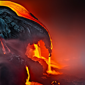 Lava Drop by samuel FERON on 500px.com