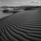 Mesquite dunes, Death Valley, CA