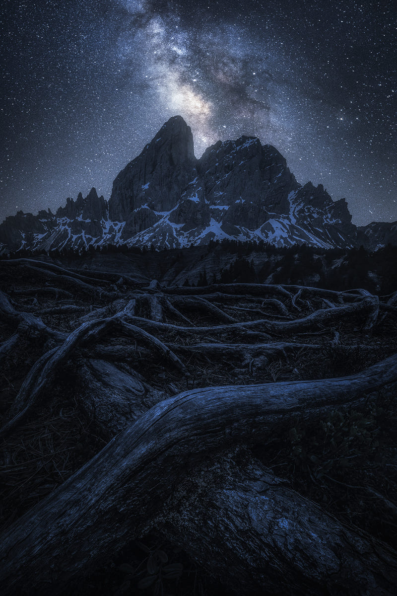 A Night in the Alps