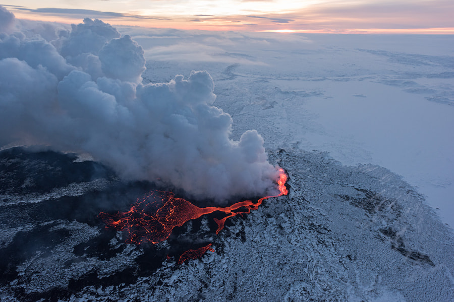 Holuhraun Eruption by Iurie Belegurschi on 500px.com