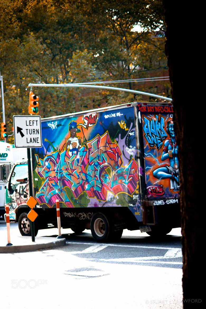 Photograph Graffvan by Stuart Crawford on 500px