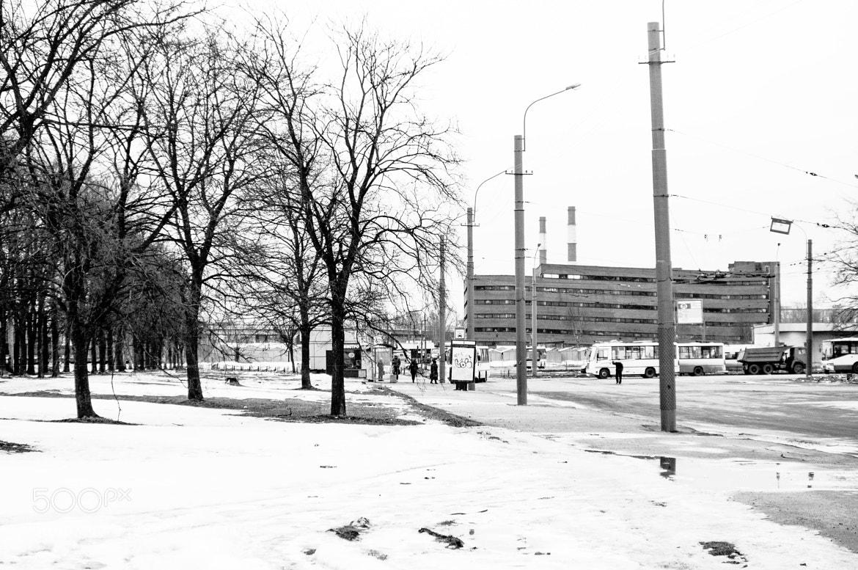 "Photograph Railroad st. ""Ruchee"".Saint-Petersburg by Stanislav Uramer on 500px"