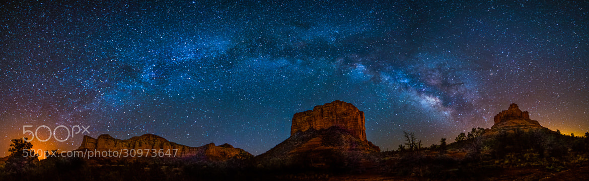 Photograph Red Rock Star Show - Sedona AZ by Bill Currier on 500px