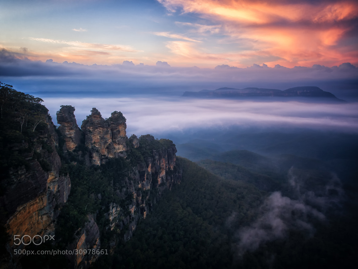 Photograph Three Sisters  by Paul Emmings on 500px