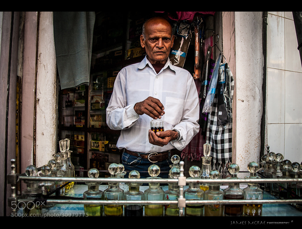 The Perfume Man by James McRae on 500px.com