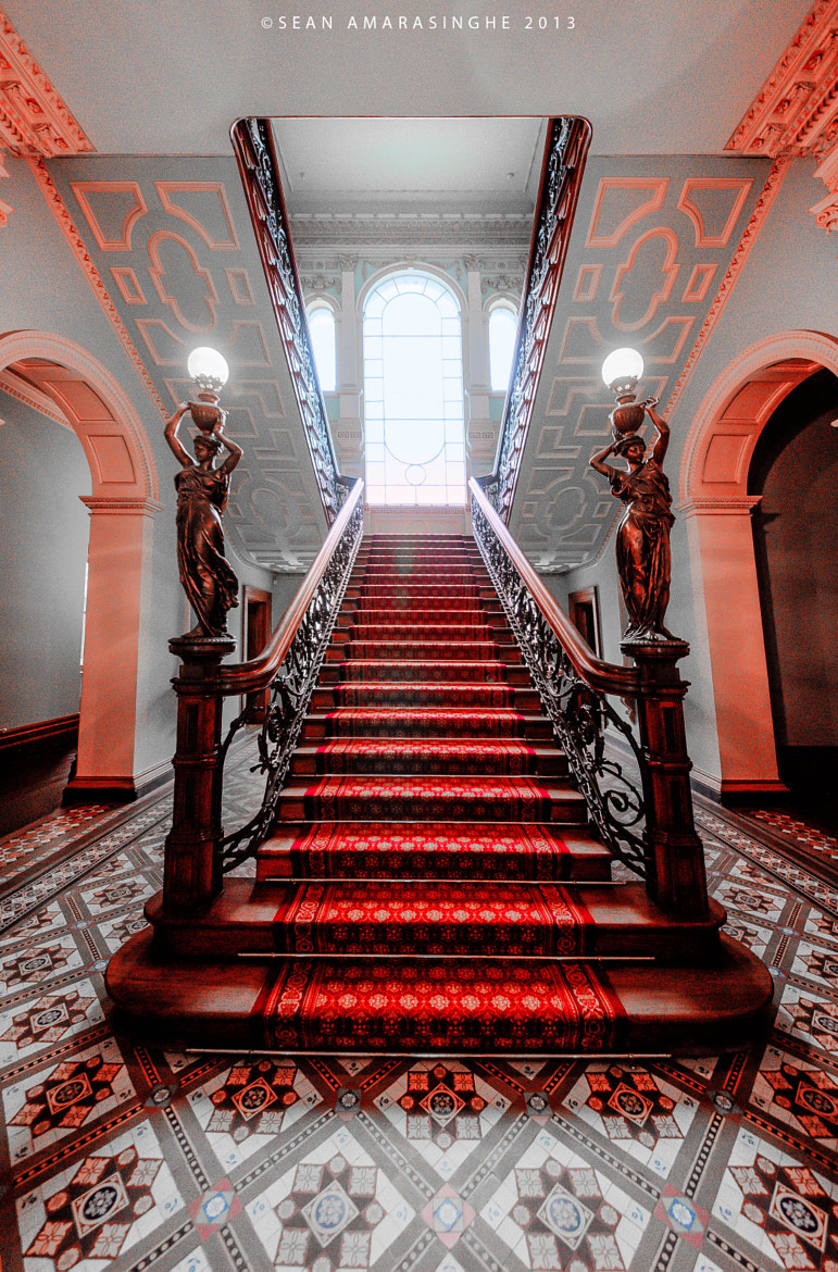 Photograph Mansion Staircase  by Sean Amarasinghe on 500px