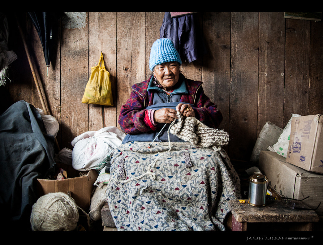 Photograph Winter Knitting by James McRae on 500px