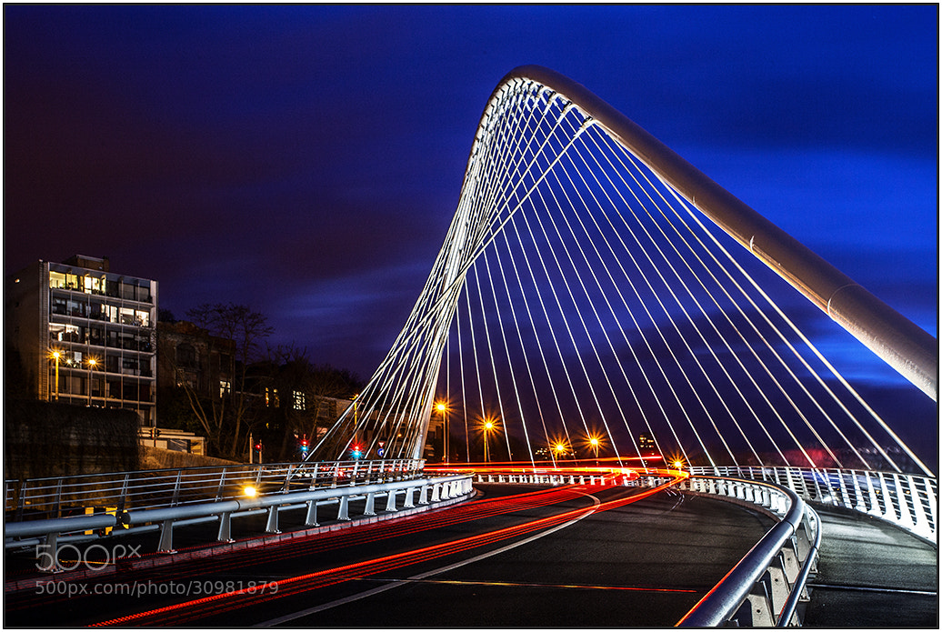 Photograph Guillemins Bridge by wim denijs on 500px