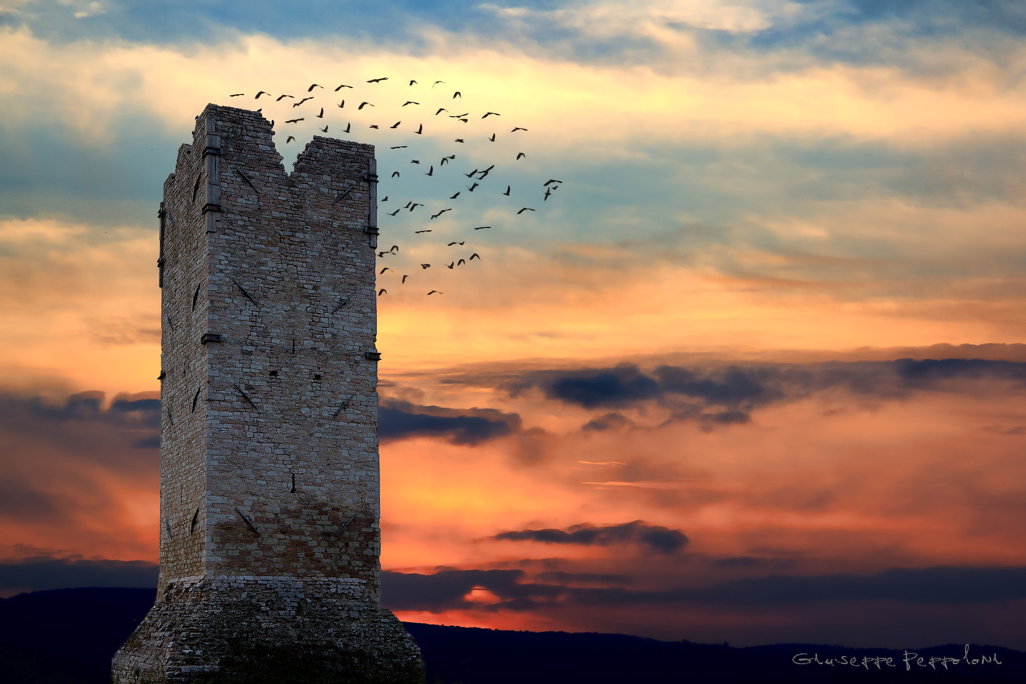 Photograph The tower by Giuseppe  Peppoloni on 500px