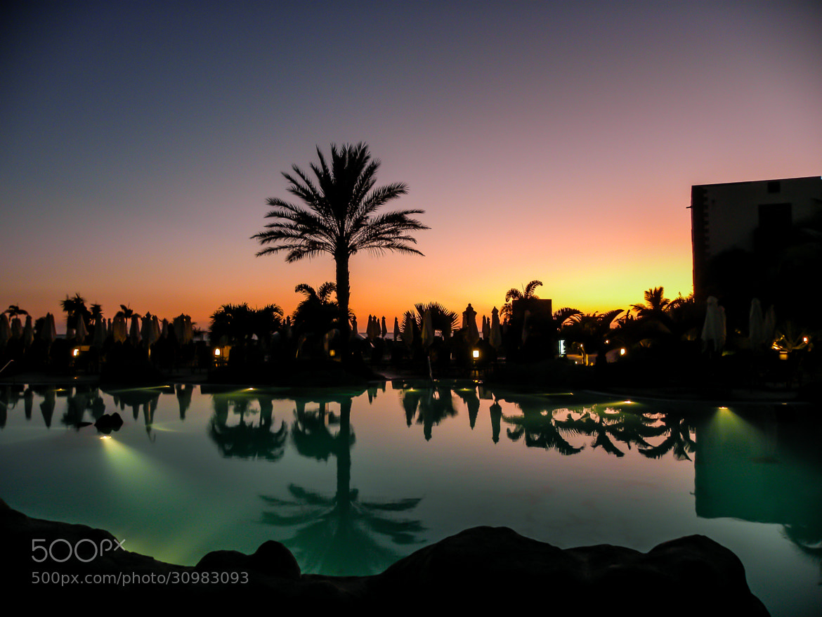 Photograph Sunset pool by Frank Lesser on 500px