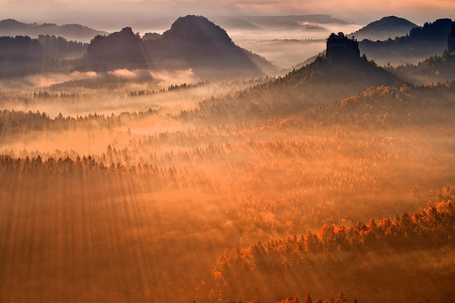Photograph SAXON SWITZERLAND by TOMÁŠ MORKES on 500px