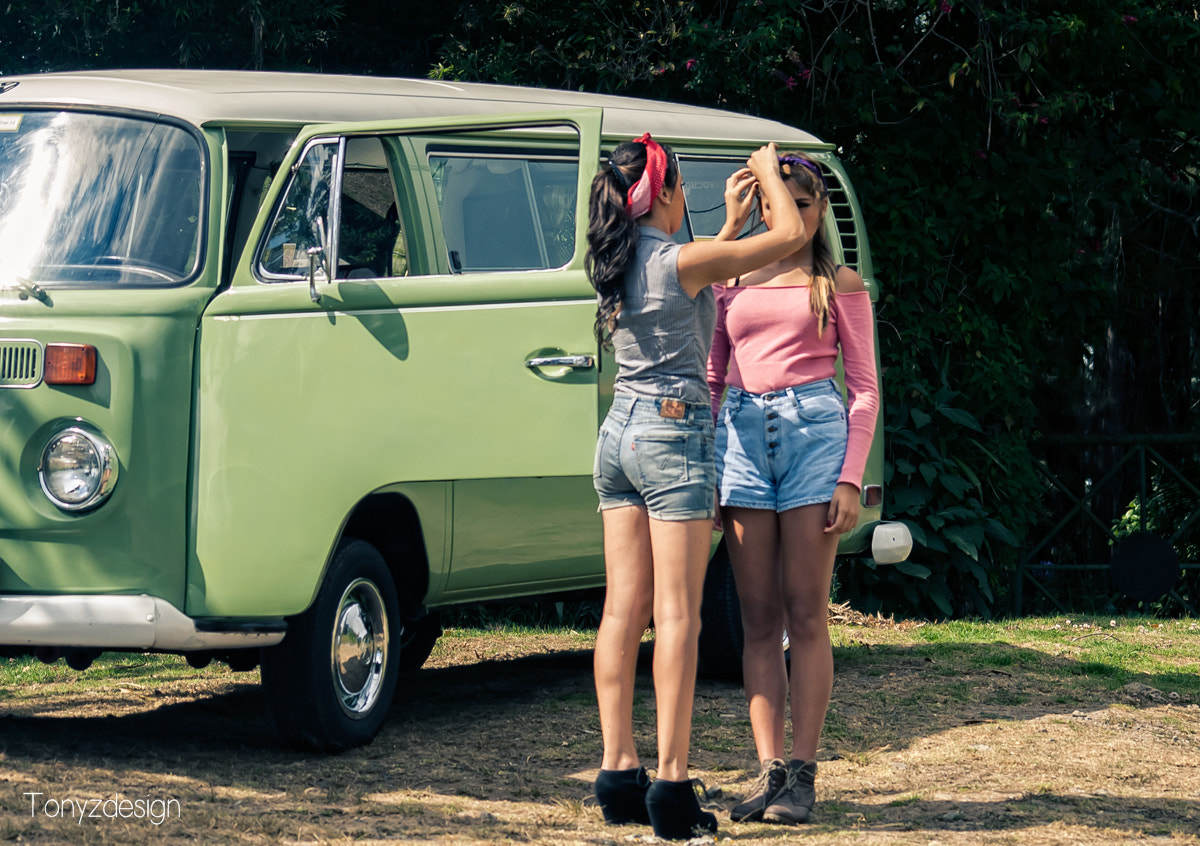 Photograph Travel girls in the van by Anthony Zuñiga on 500px