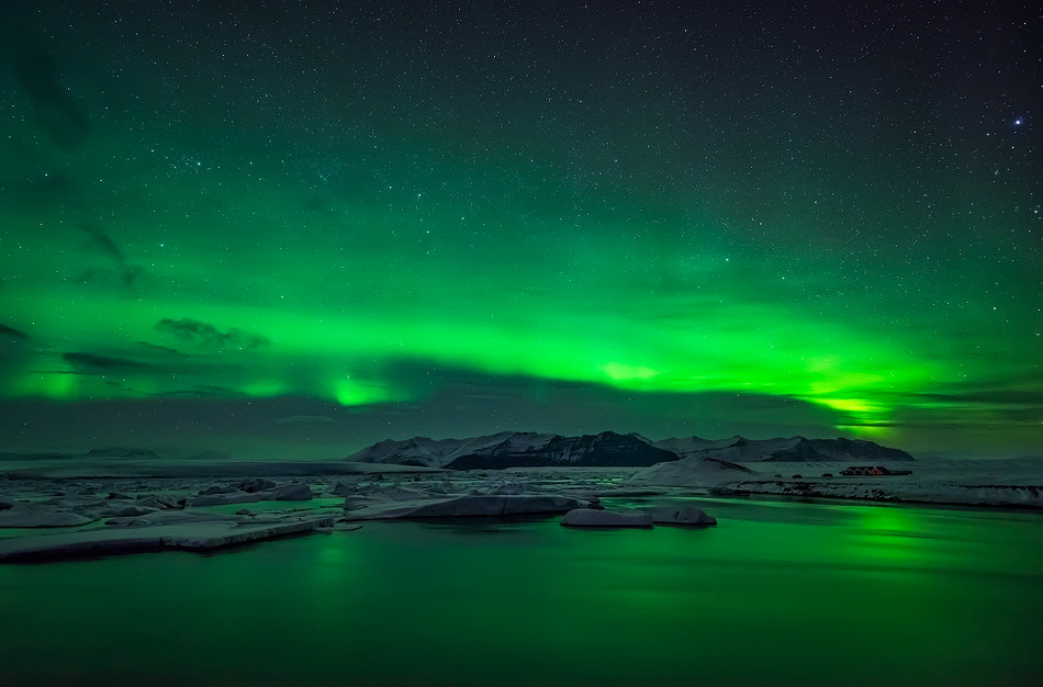 Photograph Jokulsarlon in greens by Carlos Solinis Camalich on 500px
