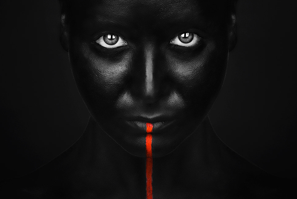 Photograph  She's got the black by Petko Petkov on 500px