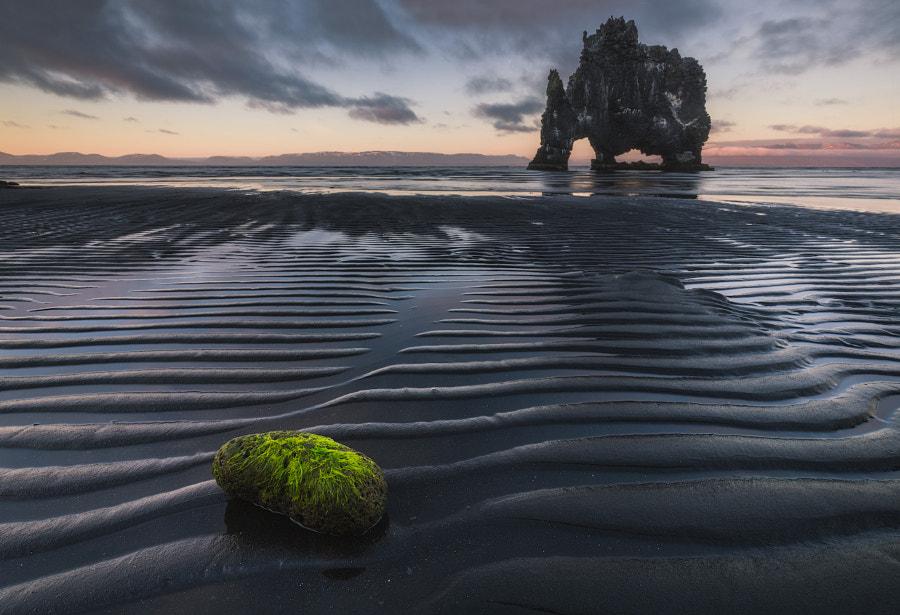 Black Sand at Hvitserkur by Iurie Belegurschi on 500px.com