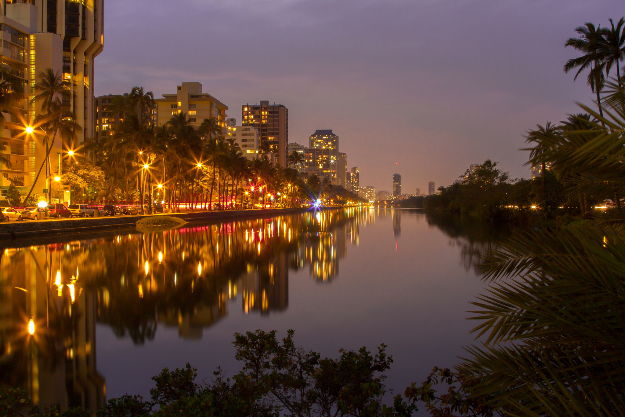 Photograph Ala Wai Canel in Honolulu by Tracy Clay on 500px
