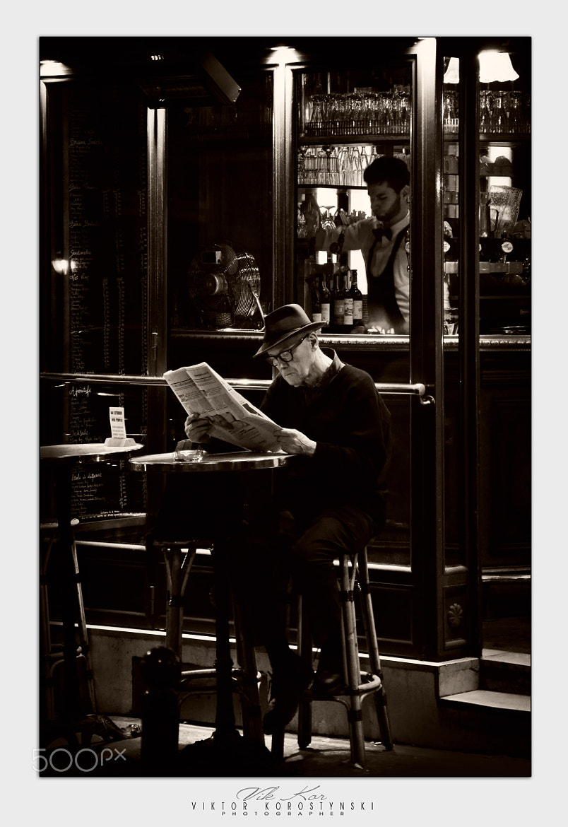 Photograph Night streets of Paris by Viktor Korostynski on 500px