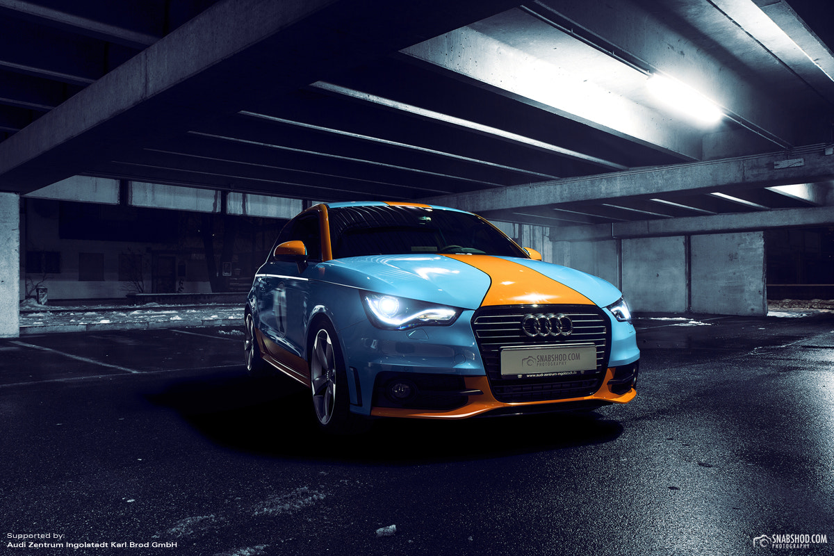 Photograph Audi A1 - Gulf Design #3 by Daniel Böswald on 500px