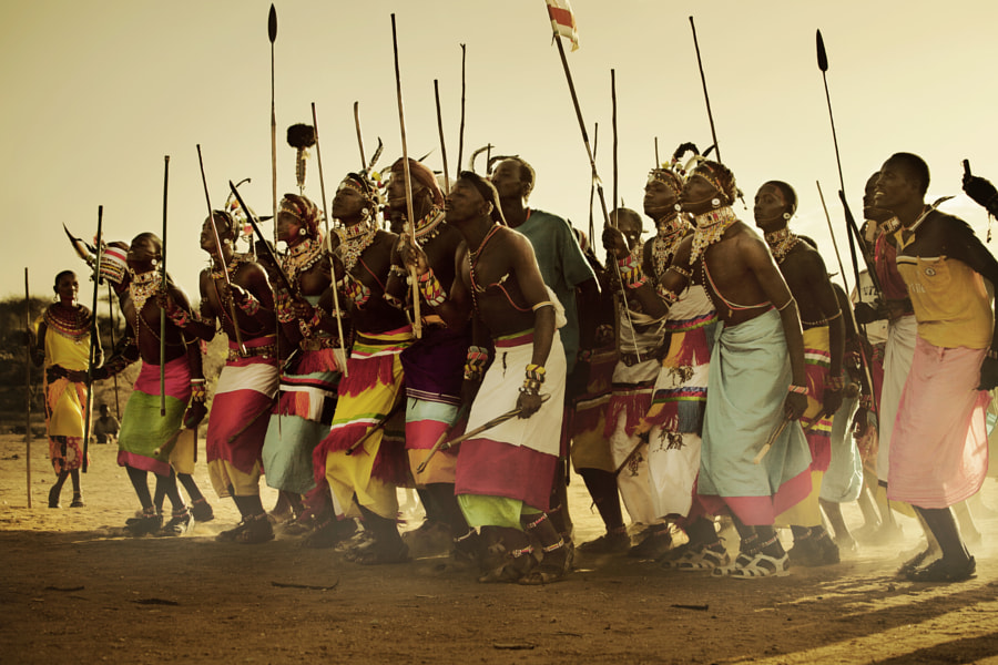 Samburu ceremonial dance
