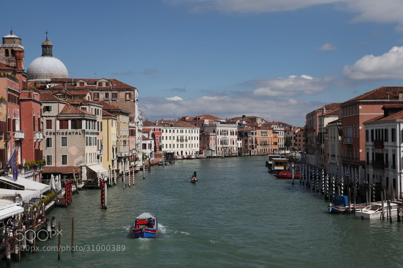 Photograph Canale Grande/Venice by Andi Line on 500px